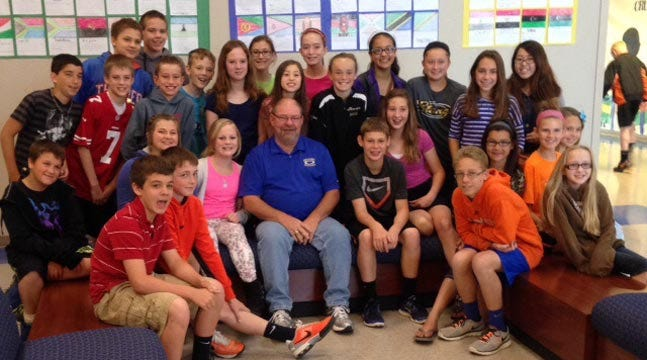 Students Surprise Oologah Teacher With Teacher Of The Year Award