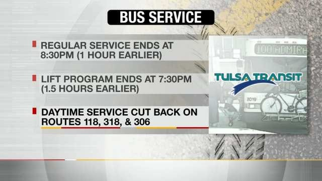Tulsa Transit Cuts Service, Raises Fares After Budget Cut