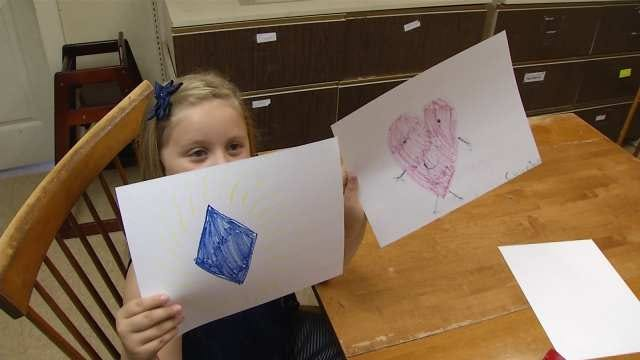 Green Country 7 Year Old Uses Art To Help Homeless