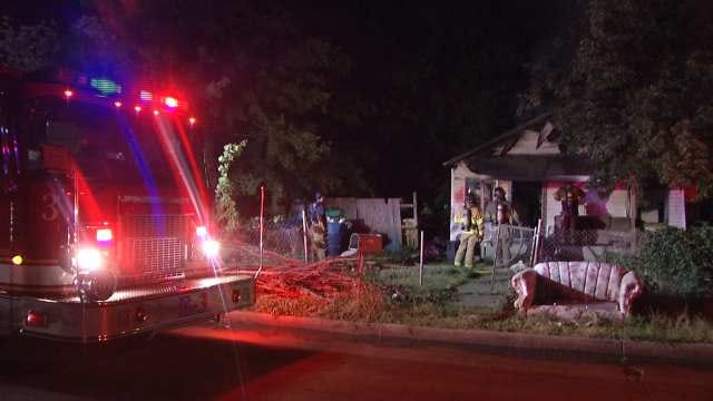 Vacant Tulsa Home Heavily Damaged By Arson