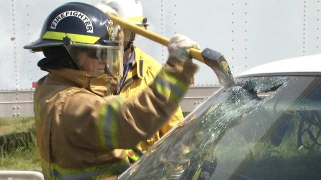 State Firefighters Sharpen Skills Under OSU's Continuing Training