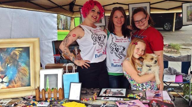 Vandals Hit Animal Rescue Advocates At Blue Dome Arts Festival