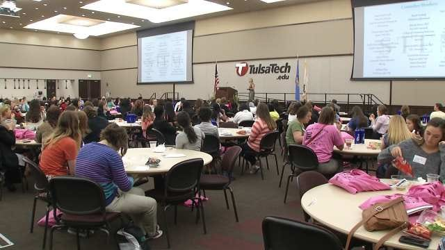 Owasso STEM Conference Focuses On Women And High Tech Careers