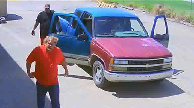 Tulsa Police Look For Two Men Suspected In Propane Tank Thefts