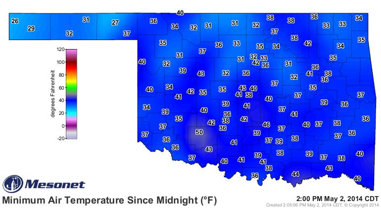 Warmer Weekend, Chance Storms Later Next Week.