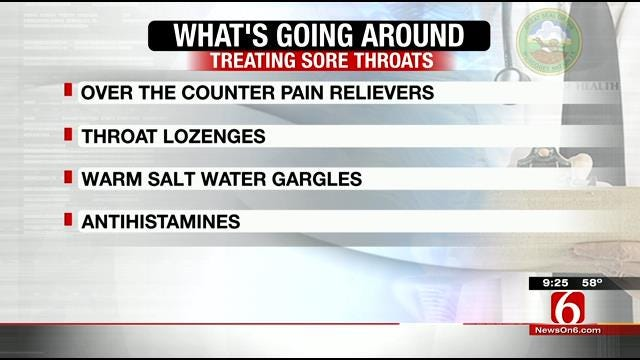 What's Going Around: Sore Throats And Allergies