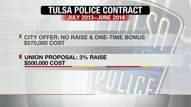Tulsa Police To Get Pay Raise After City Loses Contract Battle