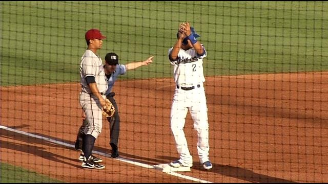 Drillers Hold Off Midland For Win