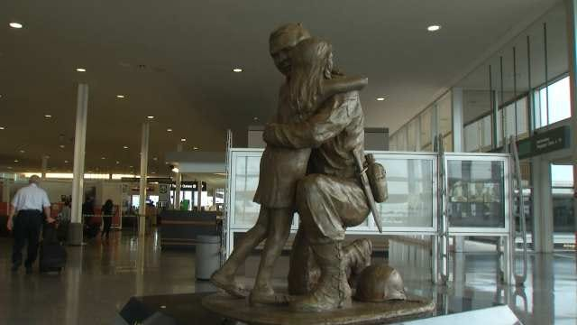 Tulsa Airport Statues Honor Those Who Sacrificed For Country
