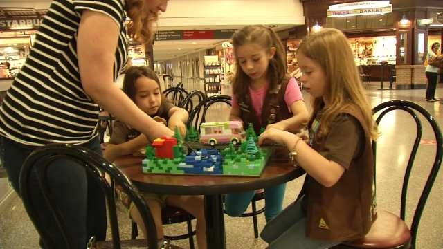 Tulsa Girl Scouts Take Part In White House Science Fair