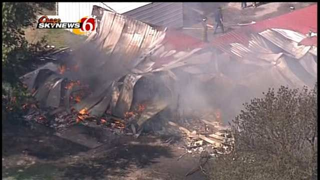$10,000 Reward Offered In Rural Wagoner County House Fire