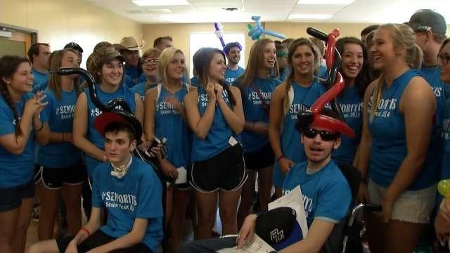 Determination Leads Injured Berryhill Seniors To Graduation Day