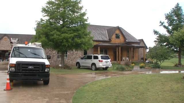 BA Family Returns To Rebuilt Home One Year After Being Destroyed By Tornado