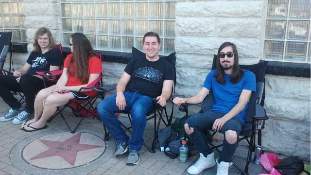 Line Forms Early For Jack White Concert At Cain's Ballroom In Tulsa