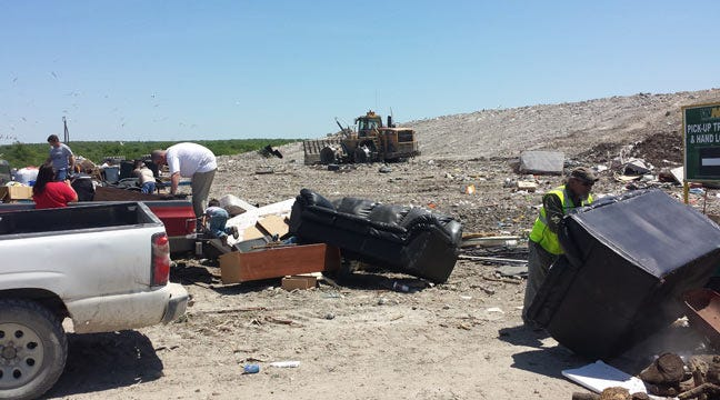Broken Arrow Does Spring Cleaning With Free Dump Day