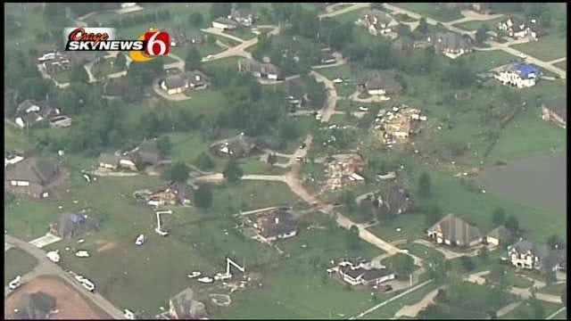 Broken Arrow Neighborhood Destroyed By Tornado Holds Vigil On Anniversary