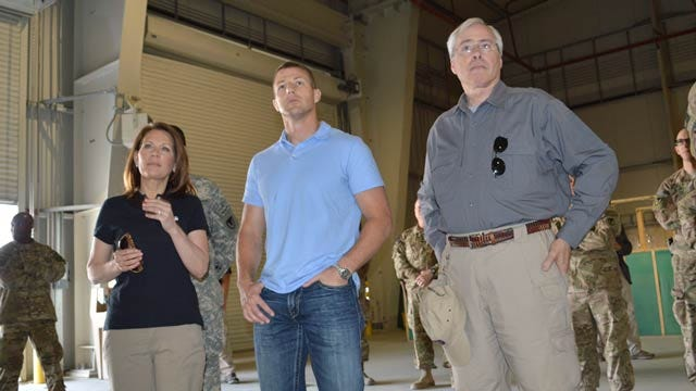 Oklahoma Second District Congressman Visits Troops In Afghanistan