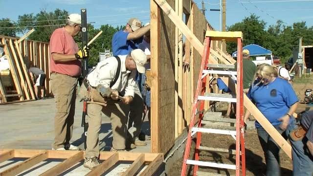 Tulsa's Habitat For Humanity On Mission To Build 8 Homes In 16 Days