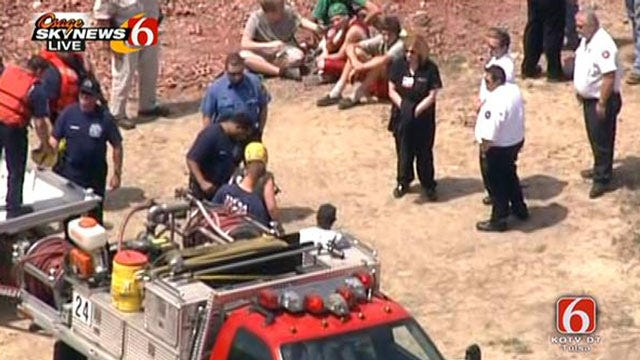 Five Juveniles Swimming In Private Tulsa Pond Lead To Large Rescue Operation