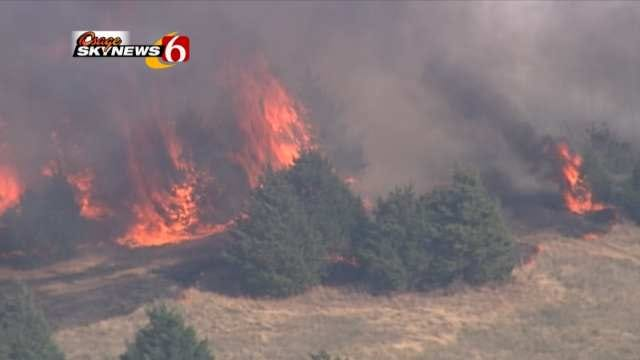 Officials: Pawnee County Wildfire Under Control