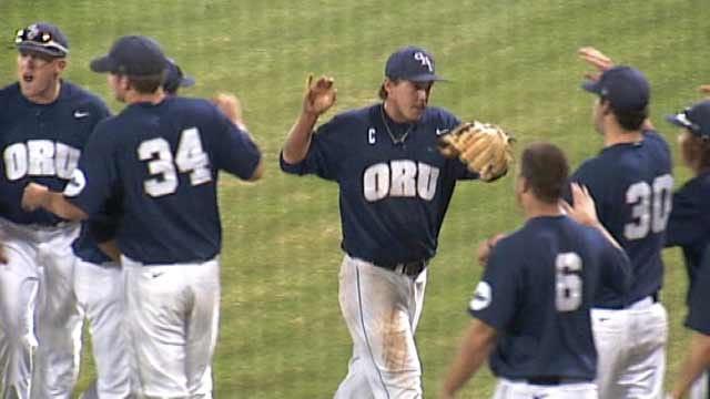 ORU Baseball Tops Missouri State