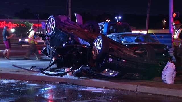 Tulsa Police: Driver Admits To Drinking Vodka Prior To 5-Car Crash