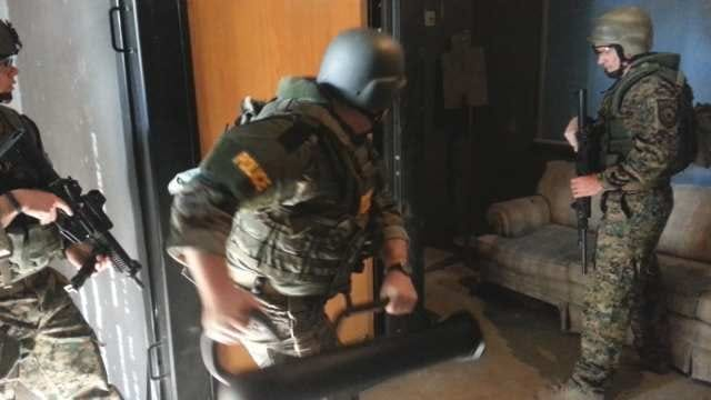 Oklahoma Police Departments Compete In SWAT Games