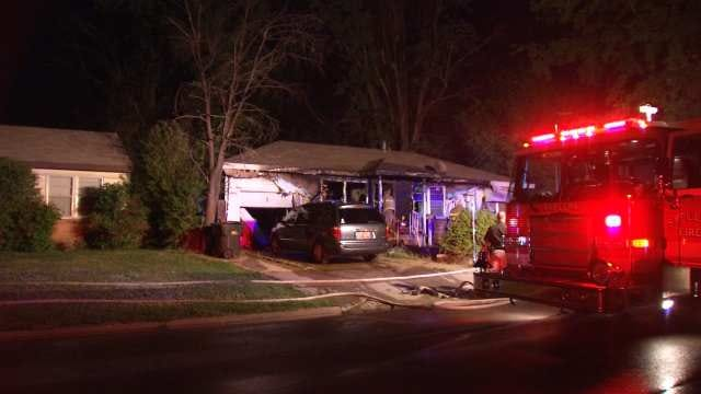 Sapulpa Fire: No One Injured When Home Catches On Fire
