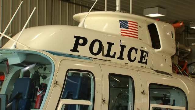 Tulsa Police Pilot Recovers Stolen Storm Shelter Equipment