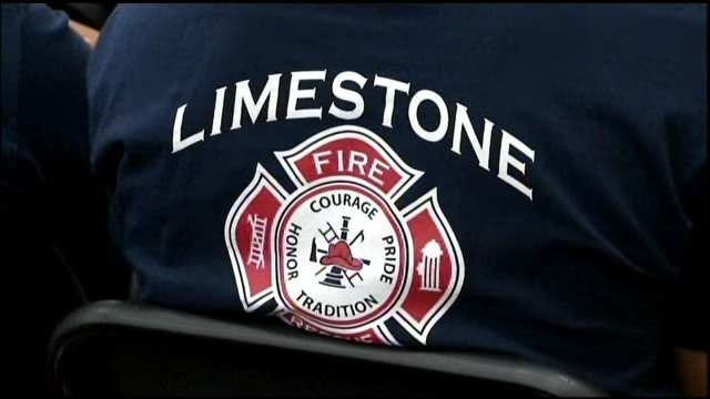 18-Year-Old Becomes Sixth Generation Limestone Firefighter