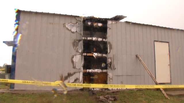 Fort Gibson Police Investigate Armed Robbery, Arson