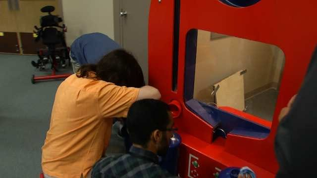 TU Engineering Students Build Gift For Tulsa's Little Light House