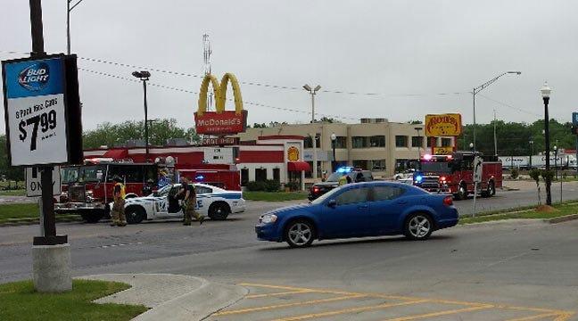 McDonald's Truck Takes Down Power Pole In Glenpool