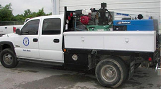 Stolen Public Works Truck Back In Owasso