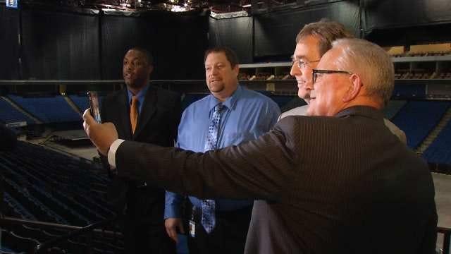 Tulsa Mayor, AT&T Announce BOK Center Wi-Fi Improvements