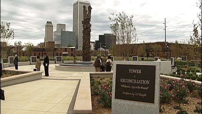YWCA Tulsa Holds Ferguson Vigil For Healing