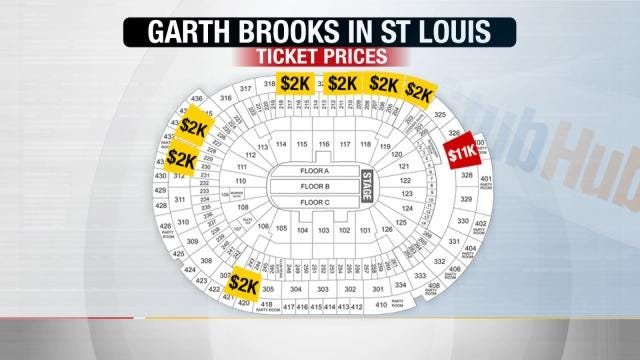 BOK Center Taking Precautions To Stop Scalpers For Garth Brooks Concerts