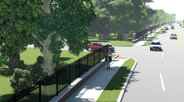 Proposed Gathering Place Sidewalk Causing Controversy