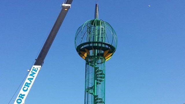 Restored Landmark Tower Returns To Bartlesville Park