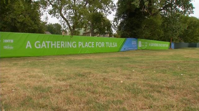 Thousands Expected For Tulsa's Gathering Place Ground Breaking