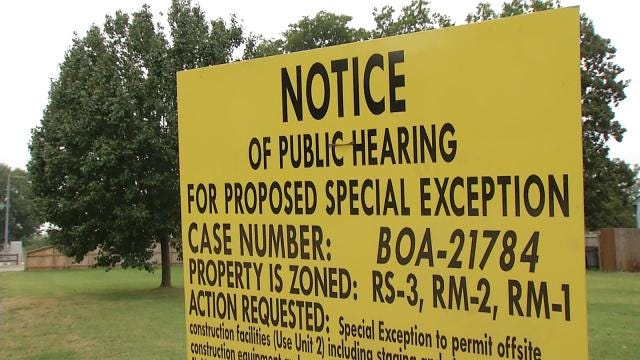 Tulsa Neighbors Take Concerns Over 'The Gathering Place' Construction To City Board