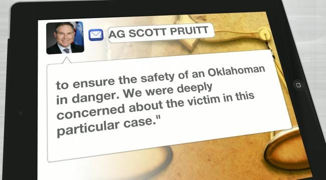 Oklahoma AG Takes Over Prosecution Of Stalking Case From Rogers County DA