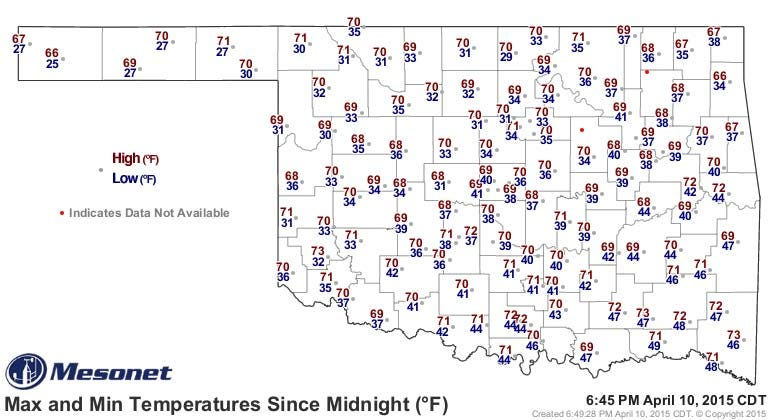 Dick Faurot's Weather Blog: Nice Start To The Weekend