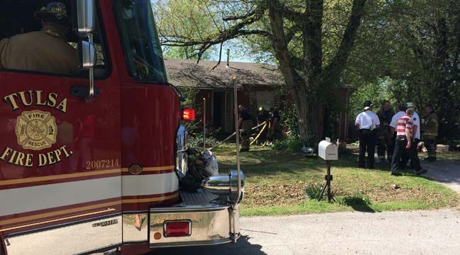 Neighbors Rescue Elderly Tulsa Woman From Burning Home