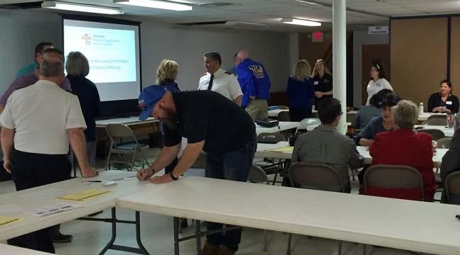 Sand Springs Groups Plan Long-Term Tornado Clean Up