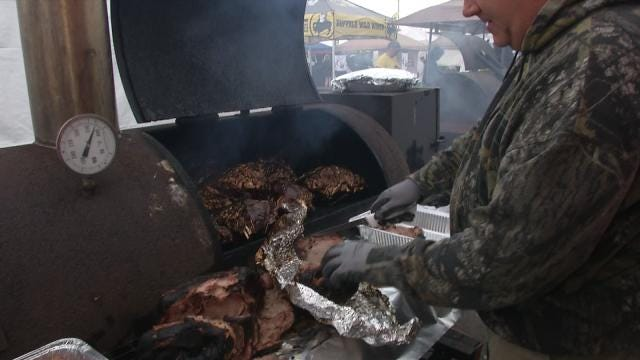 Muskogee Grillmasters Serve Up Chili, Barbecue To Crowds