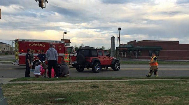Owasso Driver Runs Over Woman's Foot, Goes To Jail