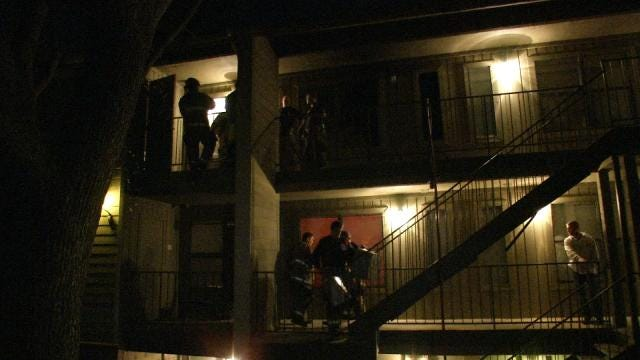 Tulsa Woman Returns From Store To Find Apartment On Fire, Cat Trapped