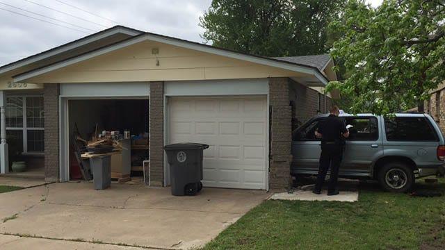 Driver Loses Control In East Tulsa Neighborhood, Slams Into House
