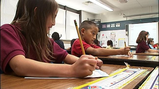Oklahoma Elementary Students Gear Up For Testing